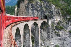 Landwasserviaduct bij Filisur