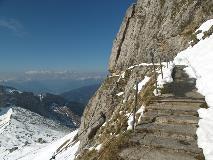 View towards the Bernese Alps from Pilatus