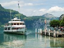 Boot bij Flüelen