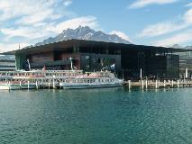 Boat dock in Lucerne
