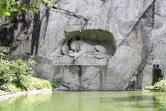 Leeuwenmonument in Luzern