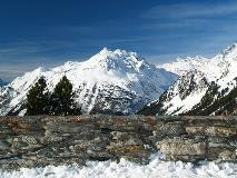 Val Bregaglia seen from Maloja