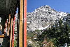 Cog train towards Pilatus