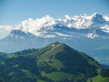 Alpen gezien vanaf Rigi