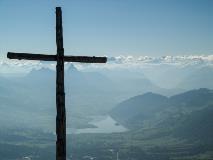 Cross at Rigi