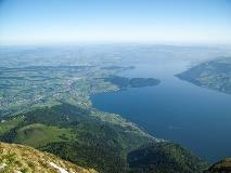View to the north from Rigi