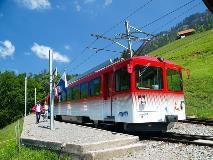 Train at Rigi Staffel