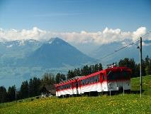 Train at Rigi Staffel