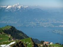 Uitzicht op Vierwaldstättersee vanaf Rigi
