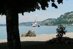 Boot bij Vitznau
