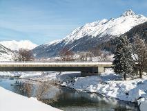 Bridge over the Inn near Zuoz
