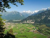 Zicht op Interlaken vanaf Beatenberg