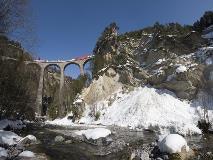 Glacier Express Landwasser viaduct