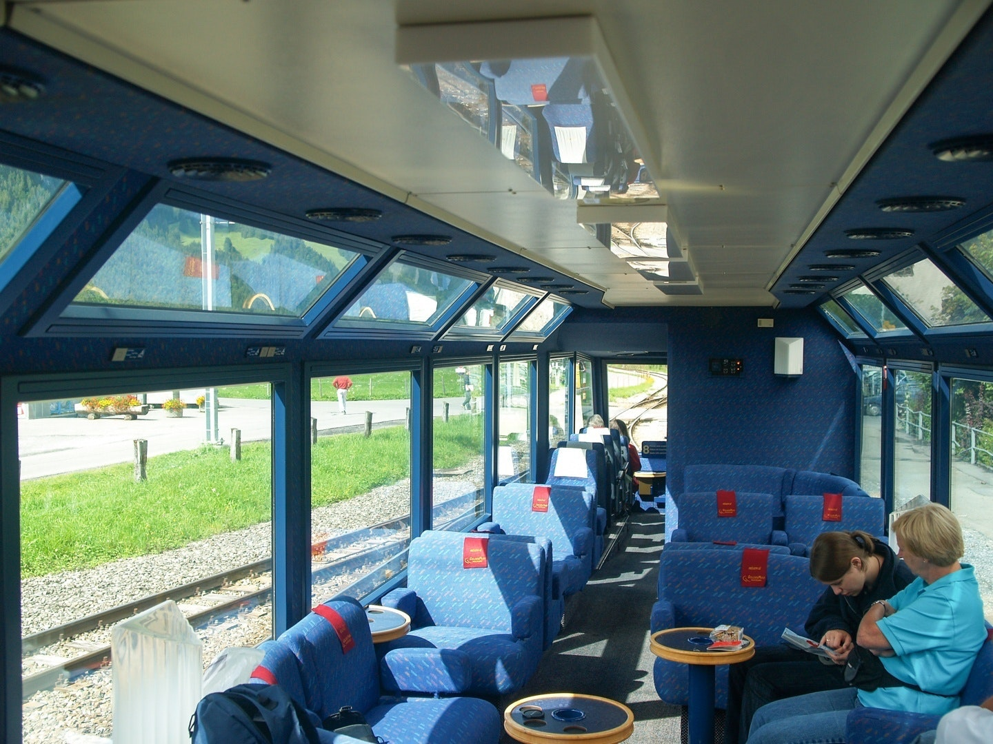 Interior of the Golden Pass