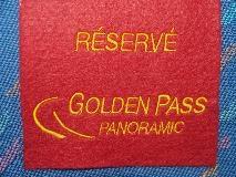 Zitplaatsreservering in de GoldenPass