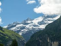 Mountains surrounding Grindelwald