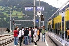Rail station of Grindelwald