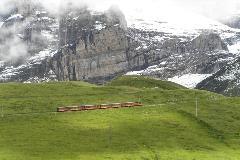 Trein naar Jungfraujoch