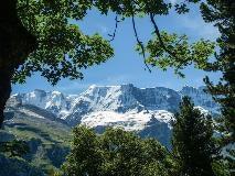 Grosshorn gezien vanuit Mürren