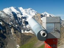 Binoculars at Schilthorn