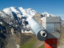 Binoculars at Schilthorn