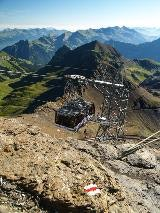 Cable car at Schilthorn