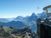 Views from Schilthorn's platform