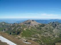 View to the north from Schilthorn