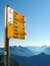Wandelen vanaf de Schilthorn
