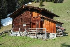 Shed in Mürren