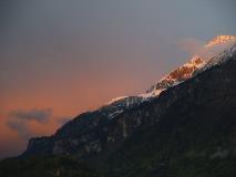 Evening skies at Brienz