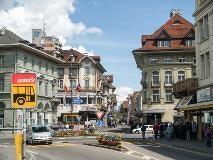 Main street of Interlaken