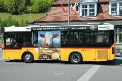 Bus in Interlaken Ost