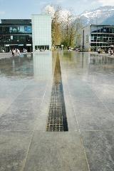Fountain at Interlaken Ost