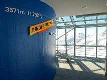Jungfraujoch op 3571 meter