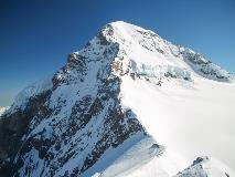 Mönch vanaf het Jungfraujoch