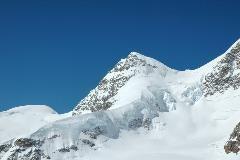Mountains surrounding Jungfraujoch