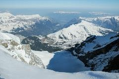 Jungfrau region from Jungfraujoch