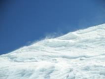 Wintry scene at Jungfraujoch