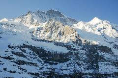 Jungfrau vanaf Kleine Scheidegg