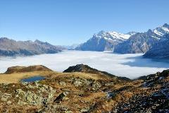 Zicht richting Grindelwald en Meiringen vanaf Männlichen