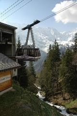 Cable car to the Schilthorn