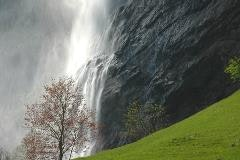 Staubbach fall near Lauterbrunnen