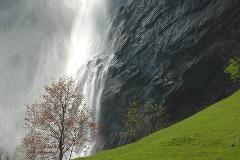 Staubbachfall bij Lauterbrunnen