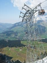Cable car to Trüebsee