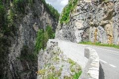 Road at Albula pass