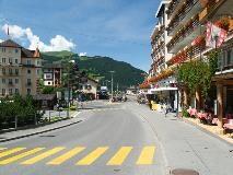 Main street of Grindelwald