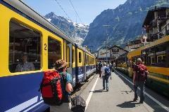 Treinstation van Grindelwald