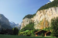 Lauterbrunnen and Staubbach fall