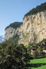Lauterbrunnen en Staubbachfall